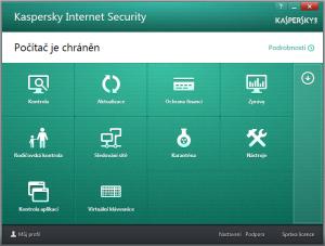 Kaspersky Internet Security multi-device 2016 16.0.0.614 - náhled