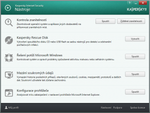 Kaspersky Internet Security multi-device 2016 16.0.0.614 - náhled