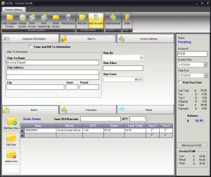 Invoice Expert Lite 4.27.0 - náhled