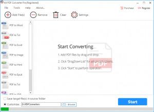 All PDF Converter - náhled