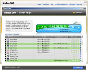 Norton 360 5.0 - náhled