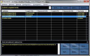 PassMan32 2011.1.14.1009 - náhled