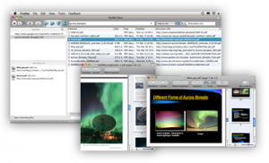 OutWit Docs 0.3.7 beta - náhled