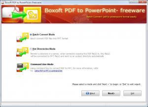 Boxoft Free PDF to PPT 1.0 - náhled