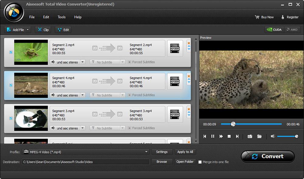Aiseesoft Total Video Converter 8.1.10 - Plná licence - 1 licence