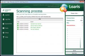 Loaris Trojan Remover 2.0.1 - náhled