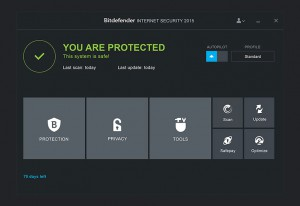 BitDefender Internet Security - náhled