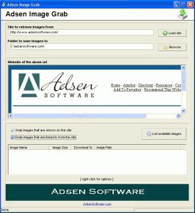 Adsen Image Grabb - náhled