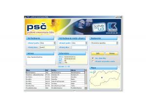 PSČ - poštovní směrovací čísla 3.0 - náhled