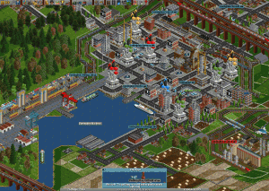 OpenTTD 1.7.1 - náhled