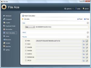 File Ace 2.05 - náhled