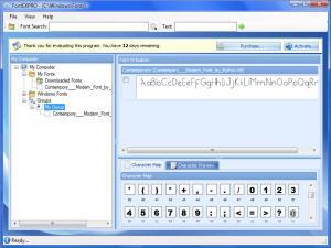 FontEXPRO 1.4.2c - náhled