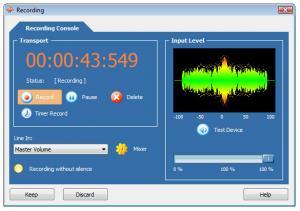 WaveMax Sound Editor 4.5.1 - náhled