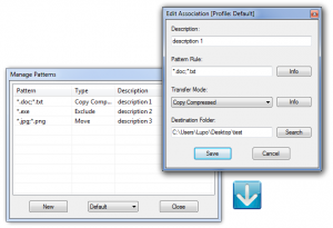 DropIt Portable 8.4 - náhled