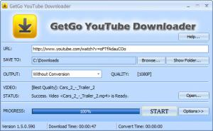 GetGo Video Downloader 2.0.2.2101 - náhled