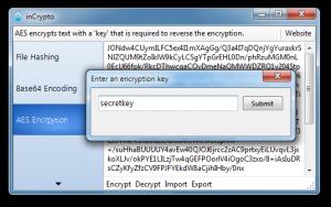 inCrypto 0.2 - náhled