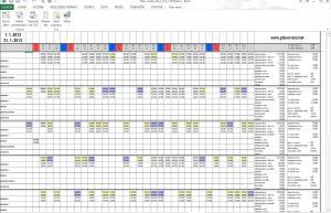Plán směn SDK 0.9.3 - náhled