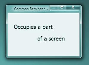 Holiline Reminder 3.3 - náhled