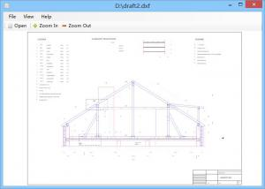 DXF Viewer 1.0 - náhled