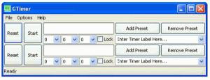 GTimer Premier 1.1.3 - náhled