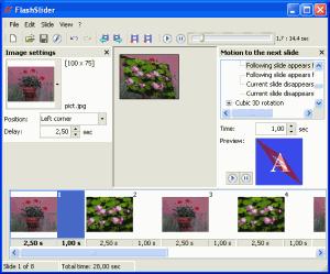 FlashSlider 4.1 - náhled