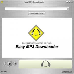 Easy MP3 Downloader 4.6.5.2 - náhled
