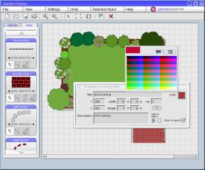Garden Planner 3.4 - náhled