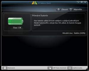 HP Battery Check 4.0.9.3 - náhled