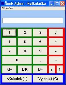 Šnek Adam - Kalkulačka - náhled