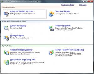 Registry First Aid 11.3.0 - náhled