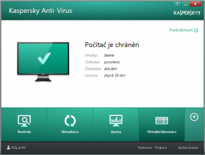 Kaspersky Anti-Virus for Windows 19 - náhled