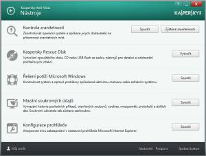 Kaspersky Anti-Virus 2016 16.0.0.614 - náhled