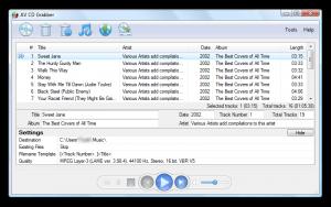 AV CD Grabber 2.0.5 - náhled