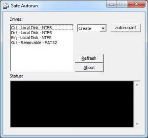 Safe Autorun 1.0 - náhled