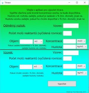 Chemické výpočty - náhled