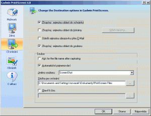 Gadwin PrintScreen 5.7 - náhled