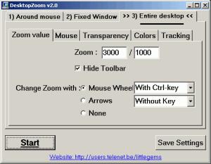 DesktopZoom 3.5 - náhled