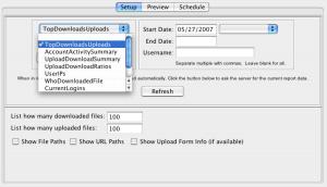 CrushFTP 4.9.4 - náhled