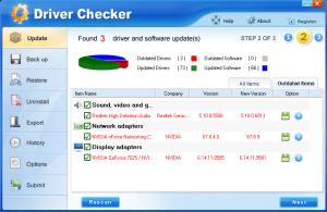 Driver Checker 2.7.5 - náhled