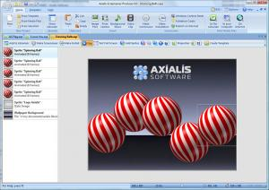 Axialis Screensaver Producer 4.2 - náhled