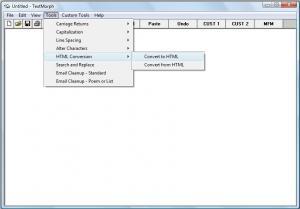 TextMorph 2.6 - náhled