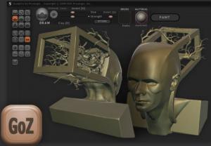 Sculptris Alpha 6 - náhled