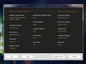 IPConfig 6.5.4 - náhled