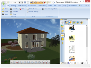 Ashampoo 3D CAD Architecture 5.3.0 - náhled