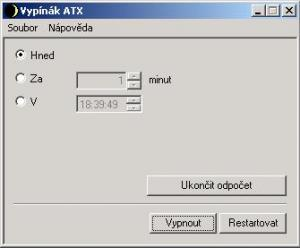 Vypínák ATX - náhled