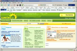 xB Browser 2.0.0.16a - náhled