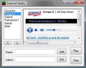 Internet Radio 1.1 - náhled
