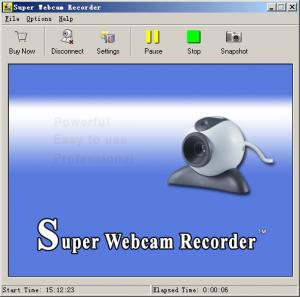 Super Webcam Recorder 4.0 - náhled