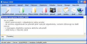 Doklad 2008 Kontrola komponent - náhled
