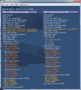 GPU-Shark 0.2.0 - náhled
